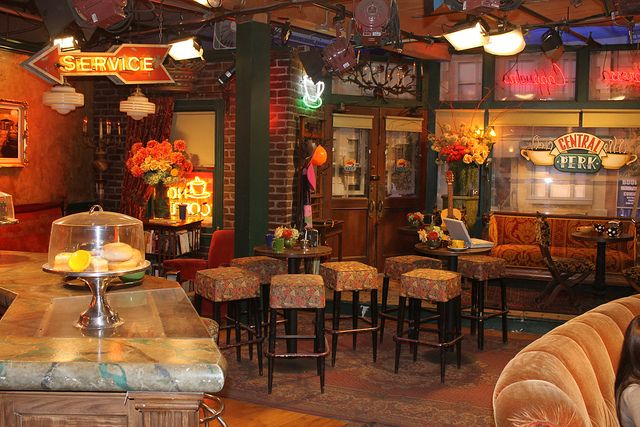 The Central Perk Set Friends Cafe Central Perk Cozy Coffee Shop