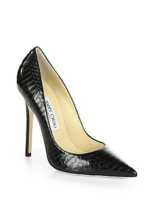 cheap pick a best for sale top quality Jimmy Choo Anouk Snakeskin Pumps pay with paypal for sale cheap sale amazing price sale perfect 2ZPkOaYK