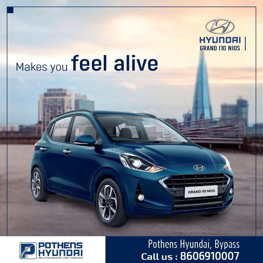 Ride With Pleasure In The Hyundai Grand I10 Nios For Bookings