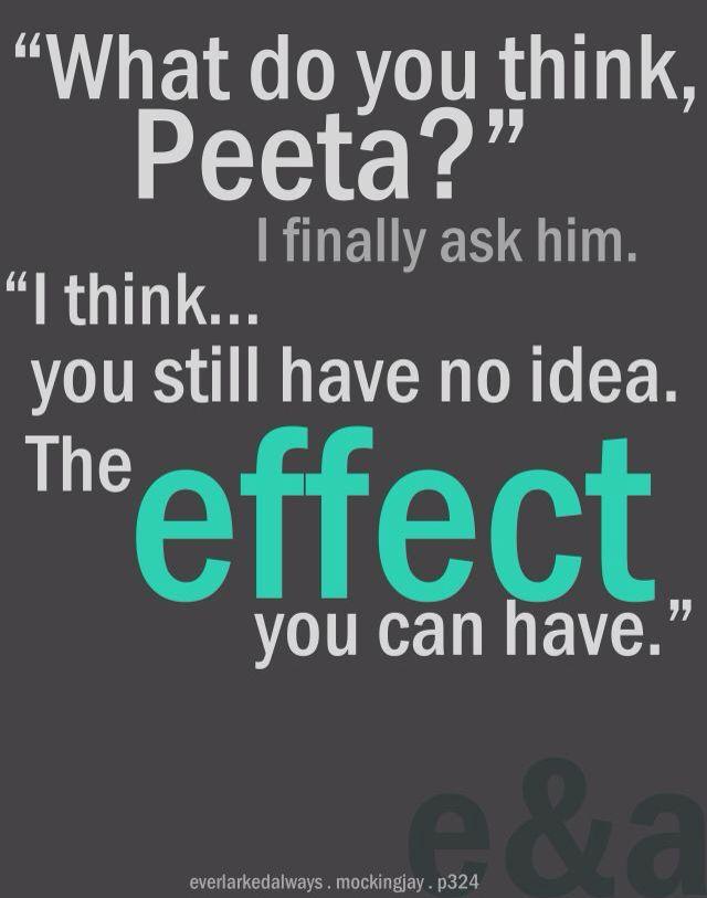 It's the Katniss effect