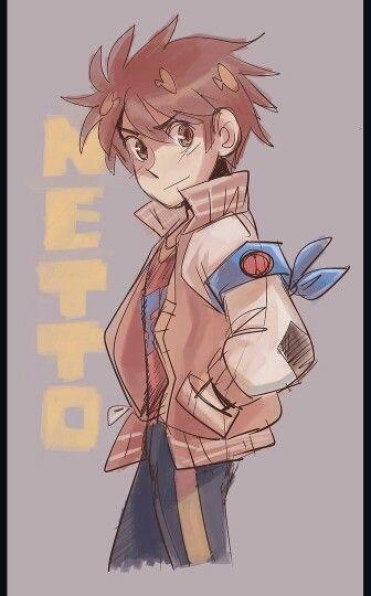 Netto Hikari Rockman Exe Mega Man Art Mega Man Anime