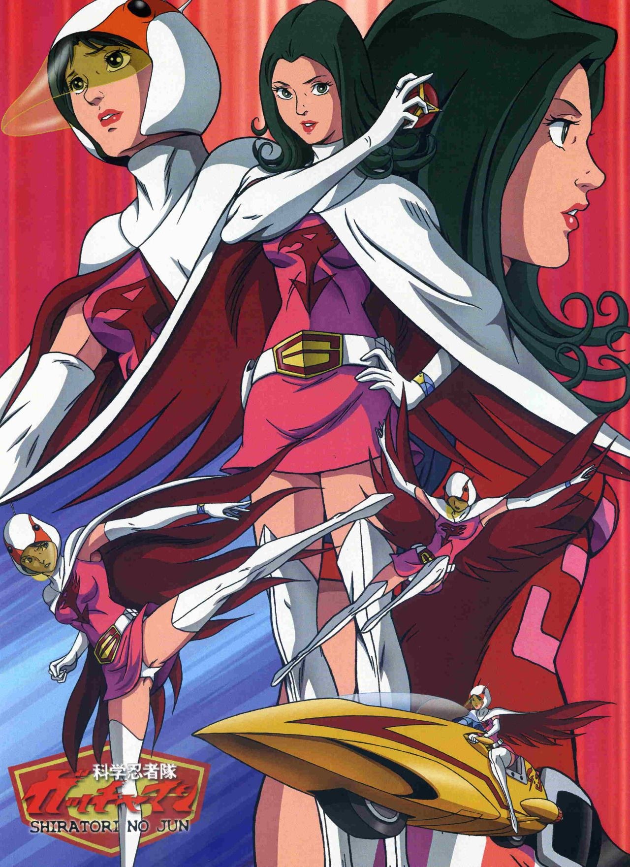 G Force Anime Characters : Princess battle of the planets g force gatchaman