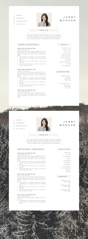 Creative Resume Design Modern Resume Design Resume Instant Download Free Resume Template Template Cv Cv Moderne Cv Creatif