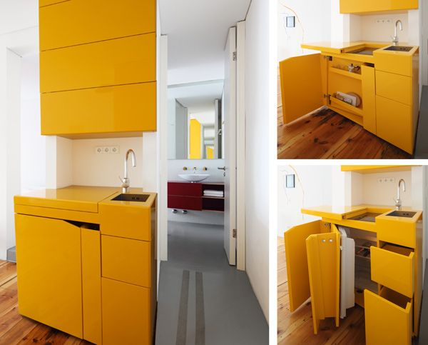 33 platzsparende Ideen für kleine Küchen | studios | Pinterest ...