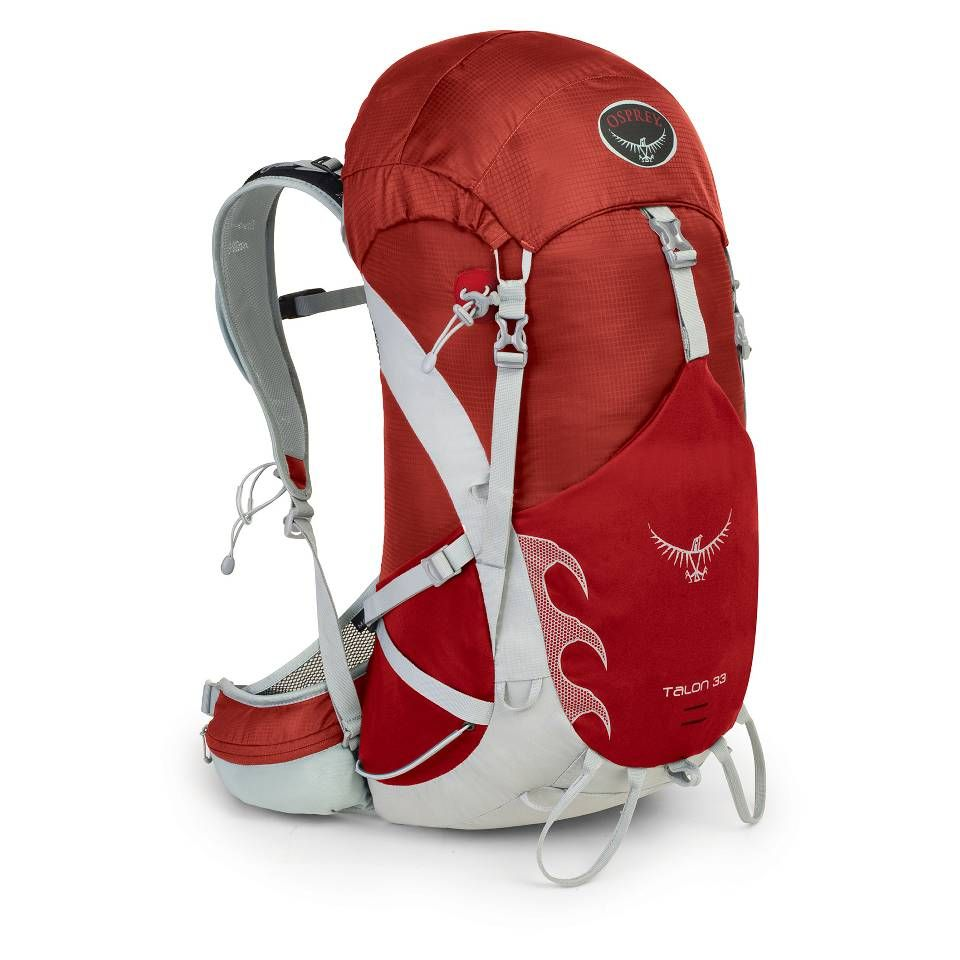 Designed for day long adventures, light overnighters and multi-day adventure races, the Osprey Talon 33 Backpack offers a lightweight and supportive carry whatever your endeavor. Featuring stow-on-the-go features for trekking poles and large top zip mesh pocket, this best-selling pack is full of convenient features and technology for all of your adventures.