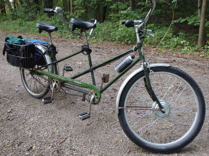 E Bikekit On Tandem Bicycle Electric Bike Diy Electric Bike Kits Electric Bike