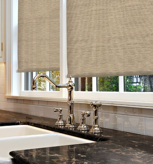 Simply Chic Roller Shades Textures Home House New Homes
