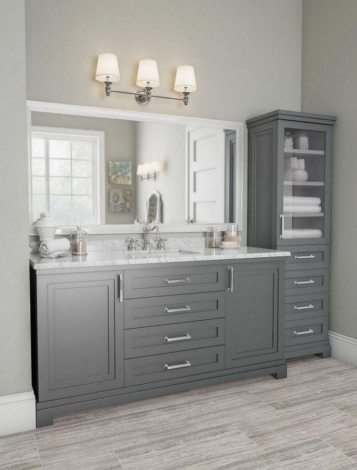 The Home Depot Logo Bathroom Vanity Decor Farmhouse Bathroom Vanity Bathroom Remodel Master