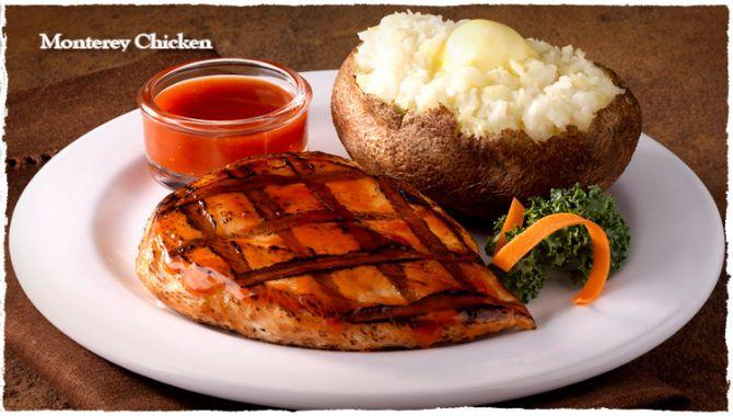 Bonanza Ponderosa Steakhouse Monterey Chicken Gen Mngr Bonanza