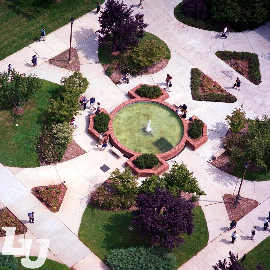 #TBT to this aerial photo of the DeMoss Courtyard from 1994!