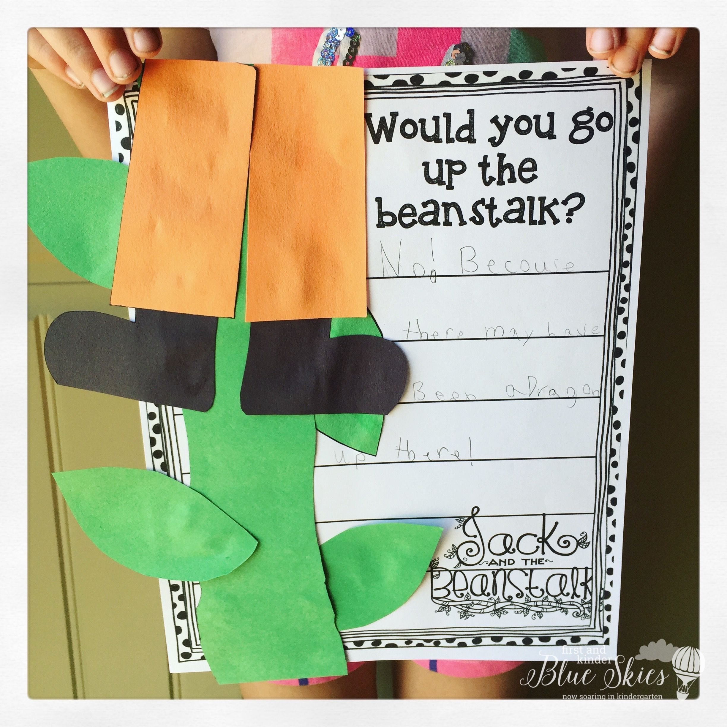 Jack And The Beanstalk Activities In