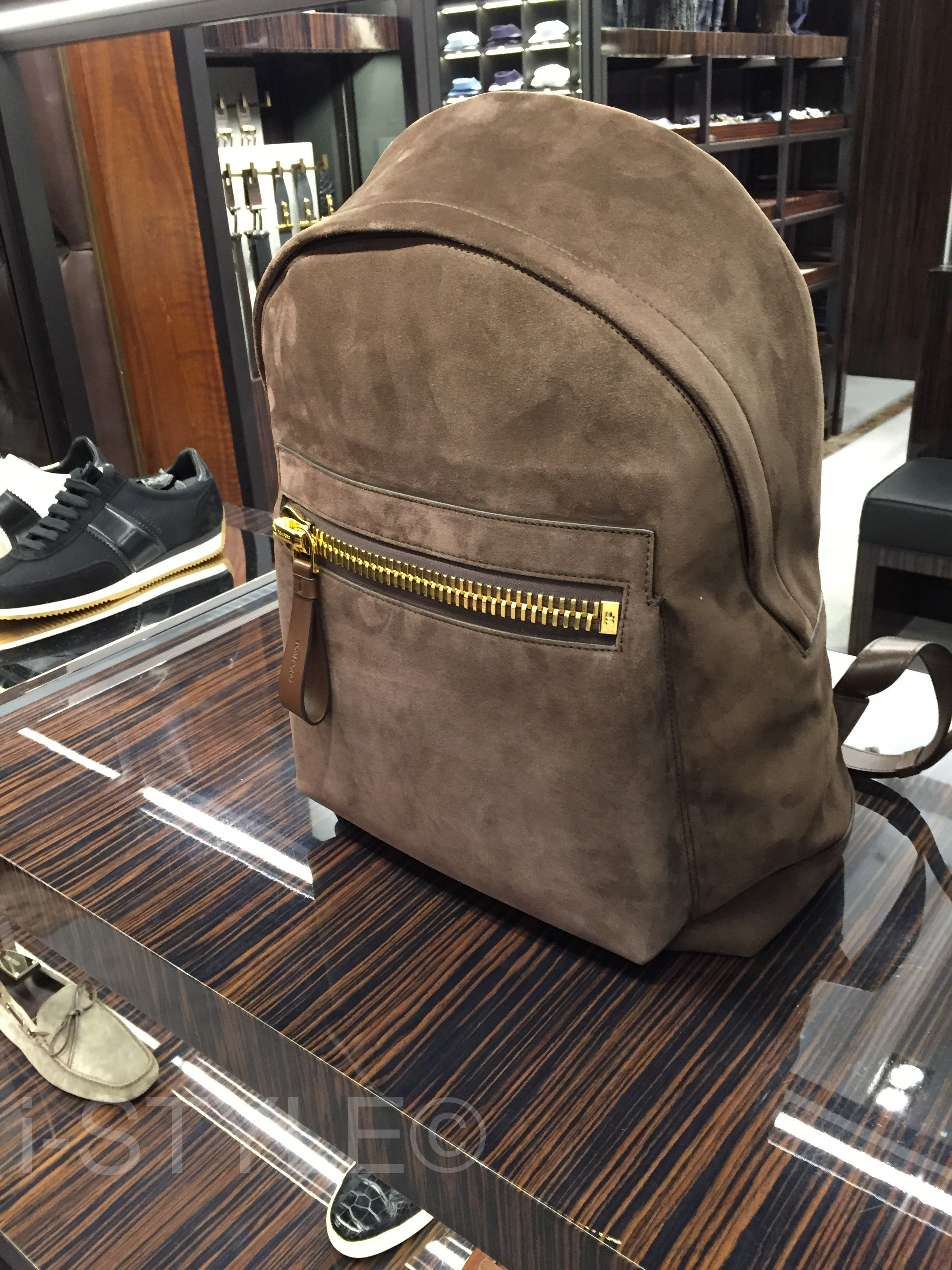 Backpack for the DapperMan! #TomFord
