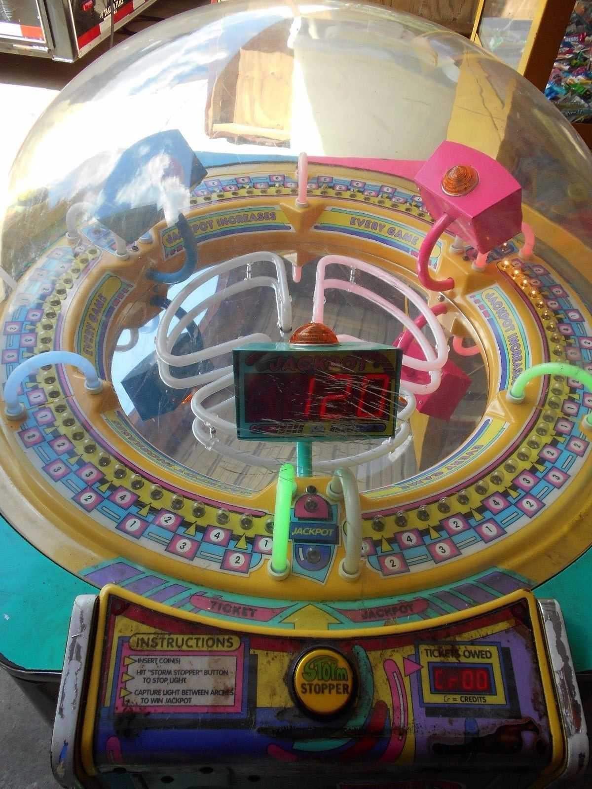 Cyclone Ticket Redemption Arcade Game (by Ice) Arcade