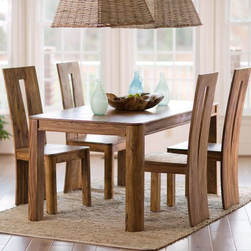 Tahli Sheesham Dining Collection Vivaterra High Back Dining