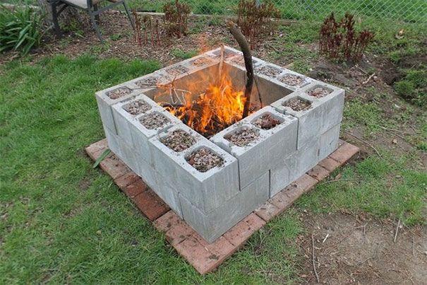24 coole ideen um betonsteine im garten oder haushalt zu verwenden betonsteine sitzbank und. Black Bedroom Furniture Sets. Home Design Ideas