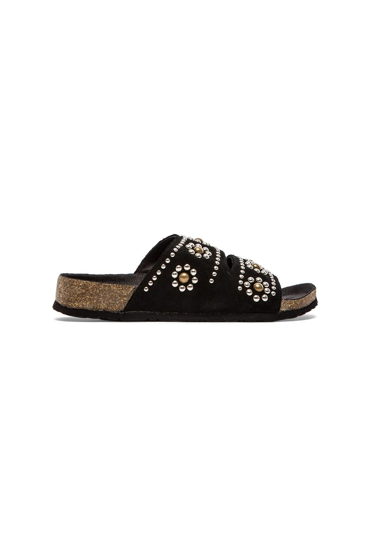 8d97c0c3f5 Marni|Saffiano Calfskin Leather Platform Wedge Sandals in Coal | // S H O E  . P O R N // | Platform wedge sandals, Wedge sandals, Wedges