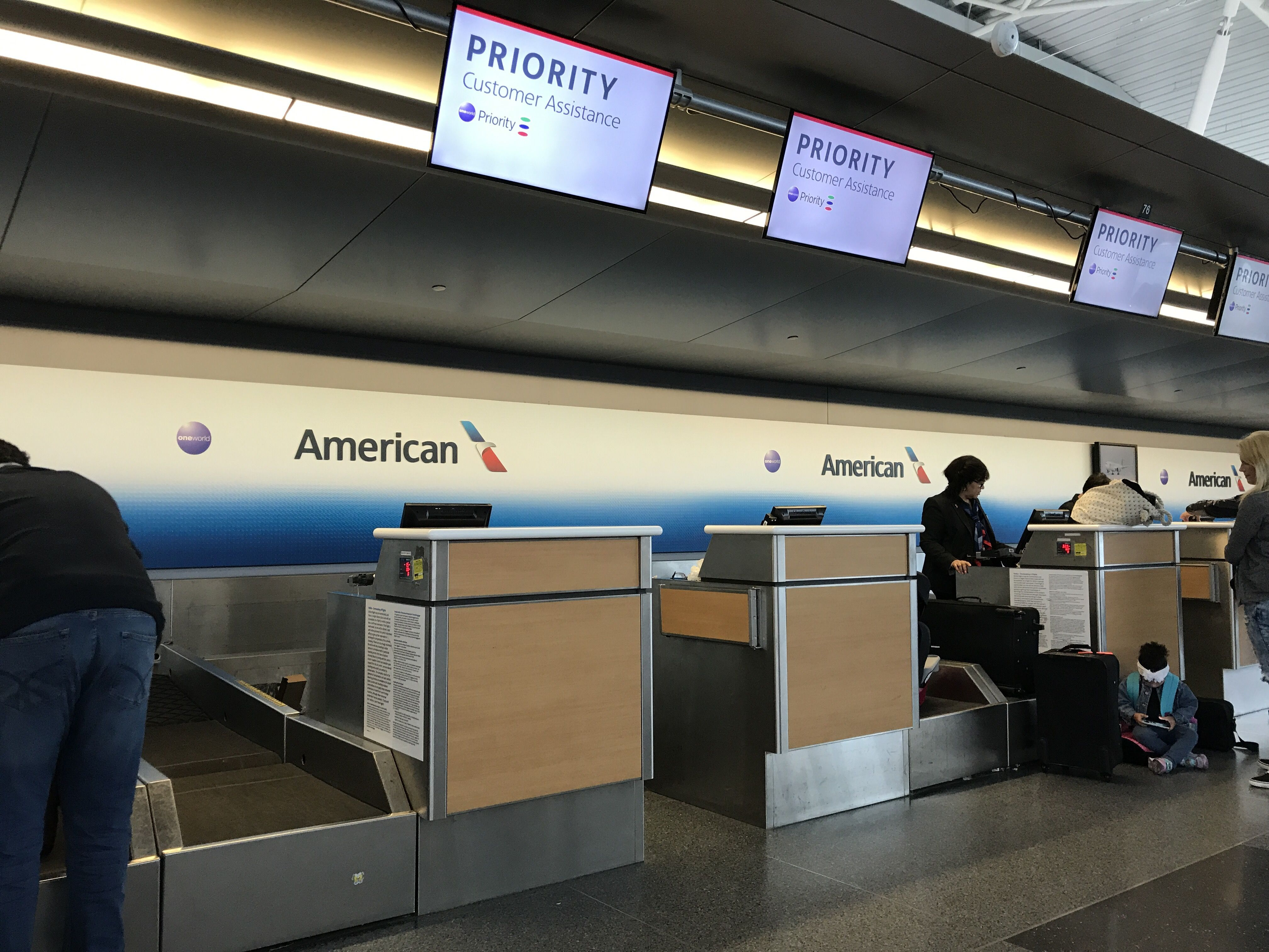 American Removes Dedicated First Class Check-In Area at JFK ...
