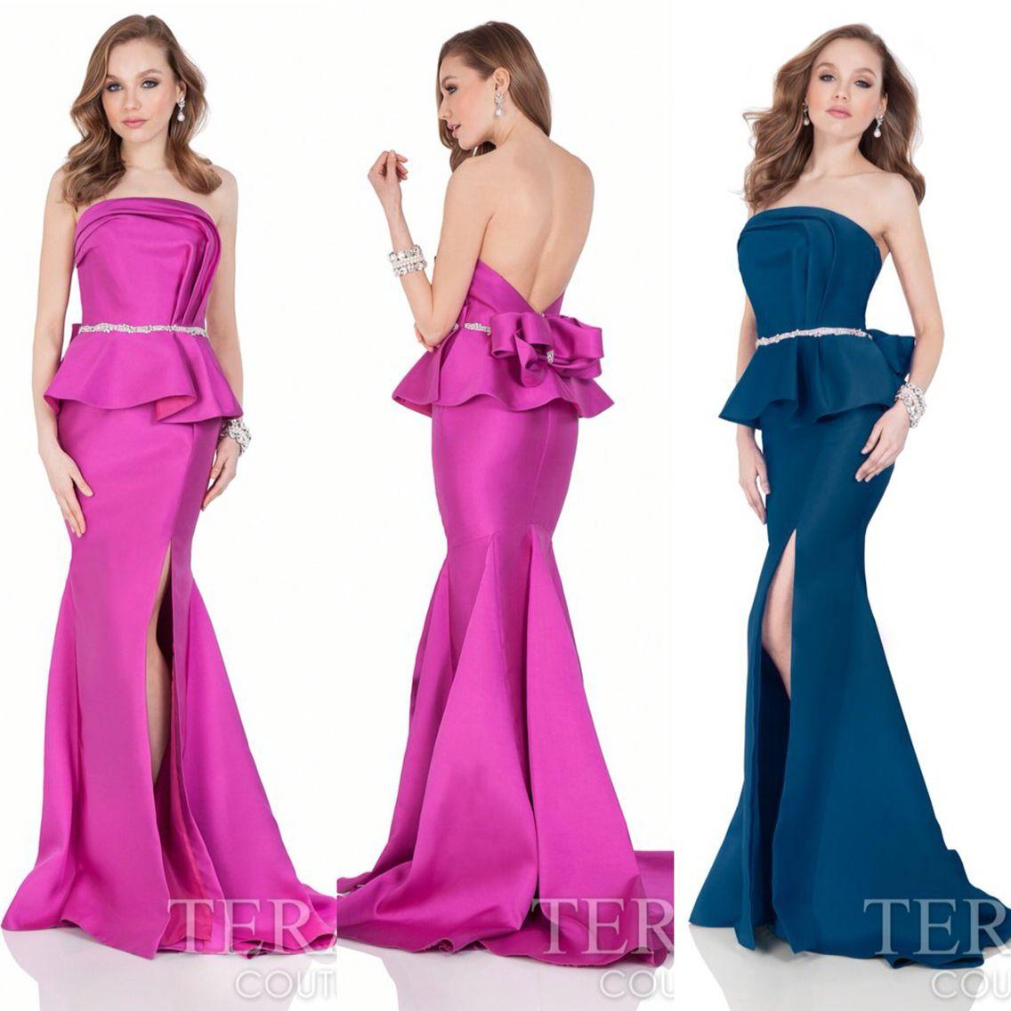 Terani 1621E1475 for $462. Available in Fuchsia and Deep Sea. Shop ...