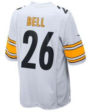 Nike Men's Le'Veon Bell Pittsburgh Steelers Game Jersey  - White XL