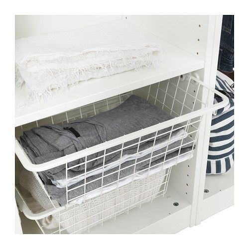 KOMPLEMENT Wire Basket With Pull Out Rail IKEA Limited Warranty. Read About  The Terms In The Limited Warranty Brochure.