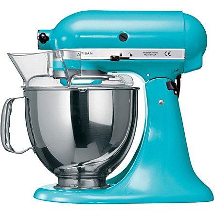 Kitchen Aid Artisan Mixer Crystal Blue Crystal Blue