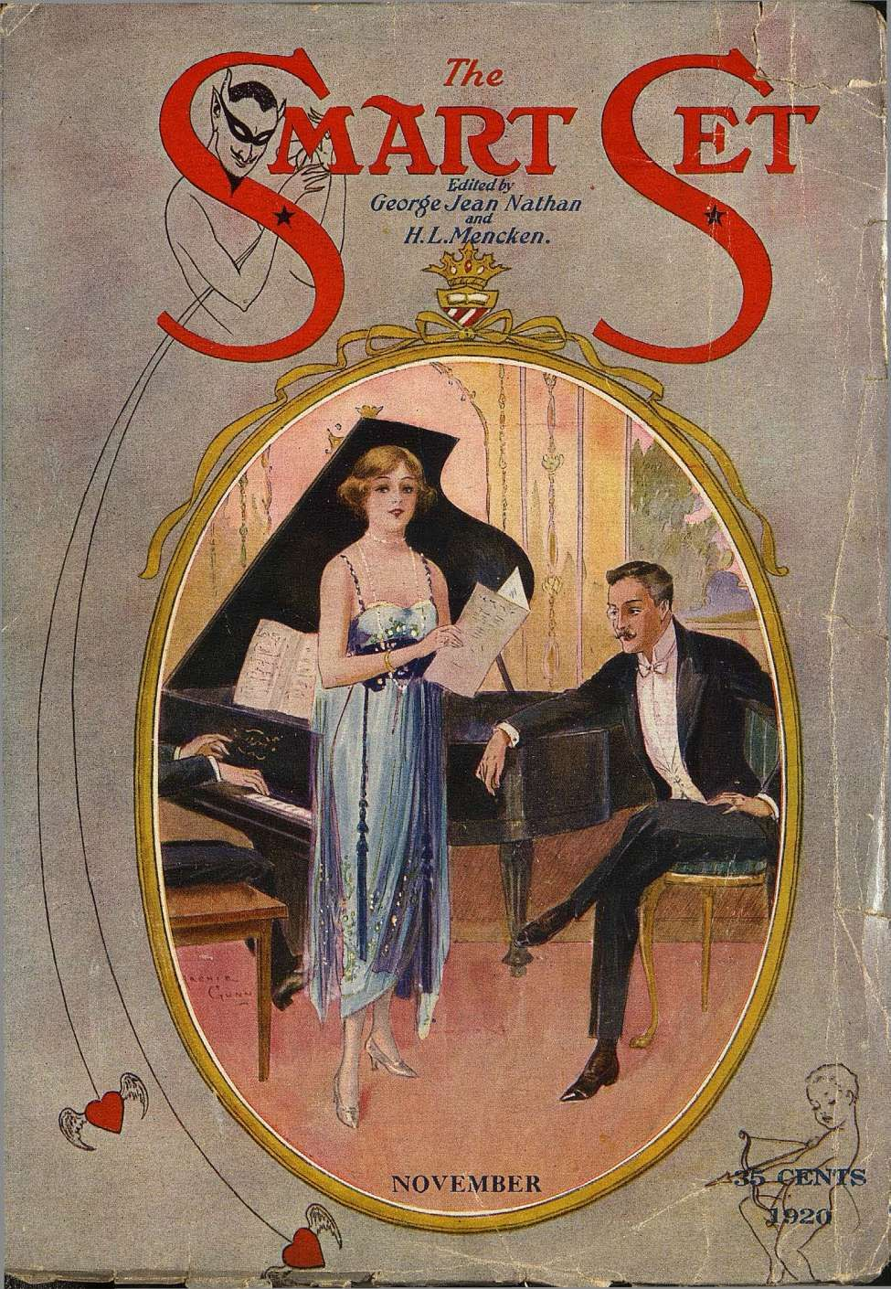 Comic Book Cover For The Smart Set v63 03