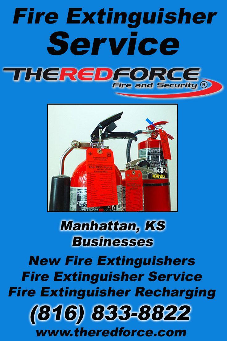 Fire Extinguisher Service Manhattan, KS (816) 8338822