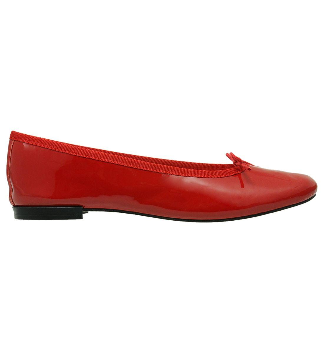 Ballerines en cuir verni Rouge Galeries LafayetteGaleries Lafayette ysx2e