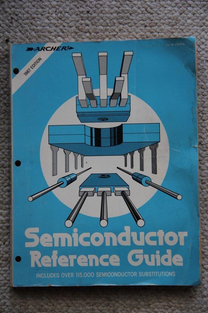 archer semiconductor reference guide 1987 radio shack cross rh pinterest com