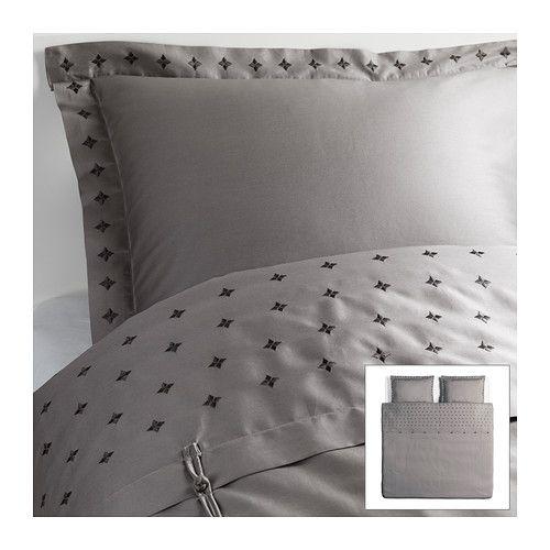 VINRANKA Pussilakana + 2 tyynyliinaa IKEA  Tuplakokoisena siis. 69€