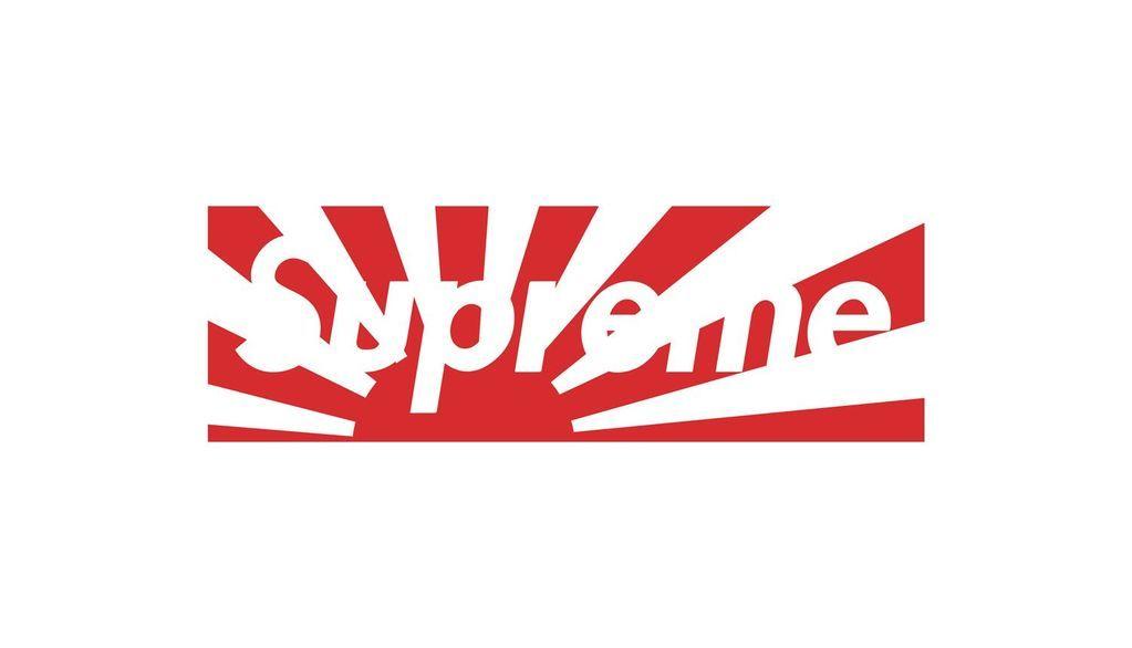 Supreme Rising Sun Box Logo Sticker 1 5