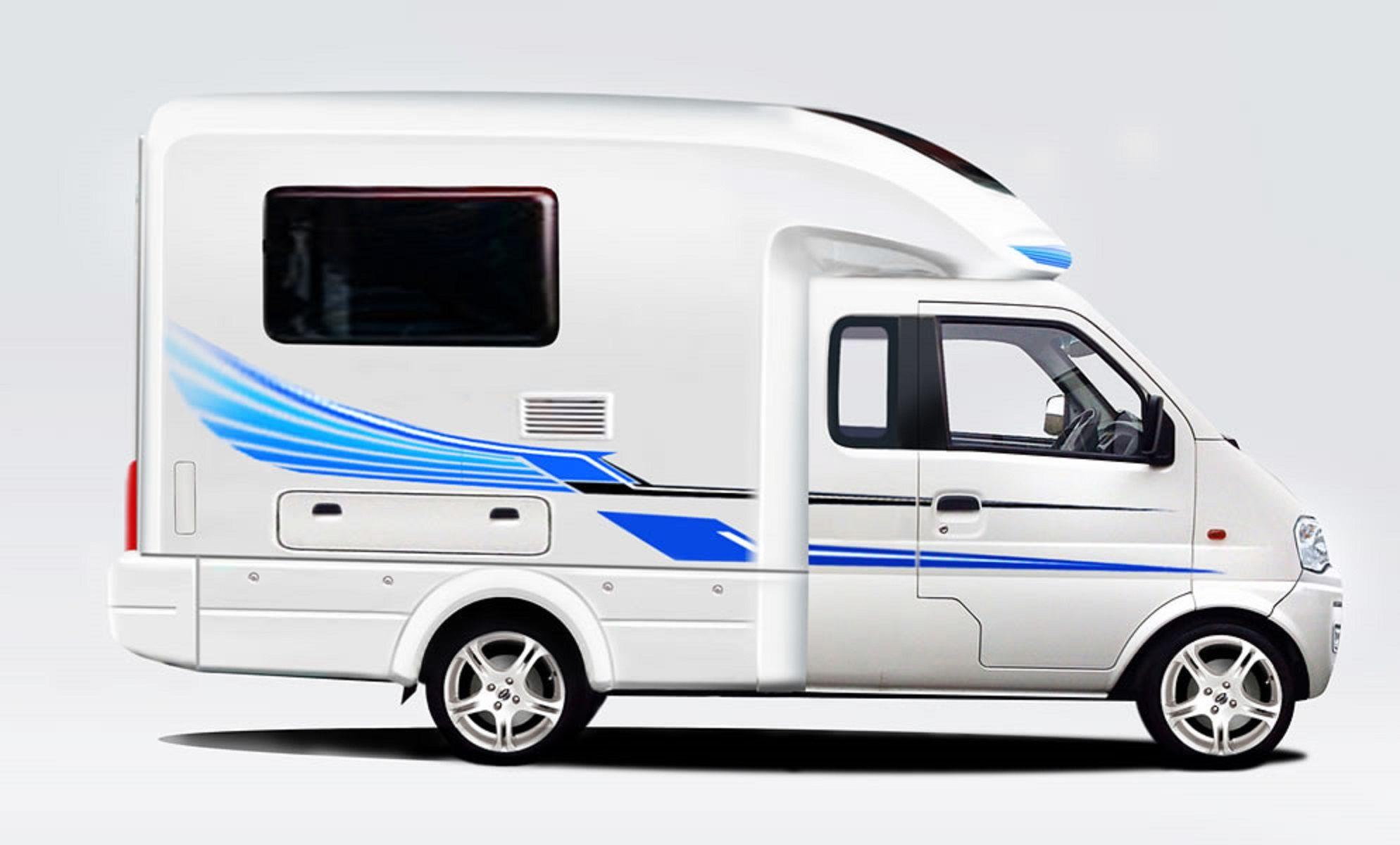 dfsk big cab mini camper dfsk campers pinterest. Black Bedroom Furniture Sets. Home Design Ideas