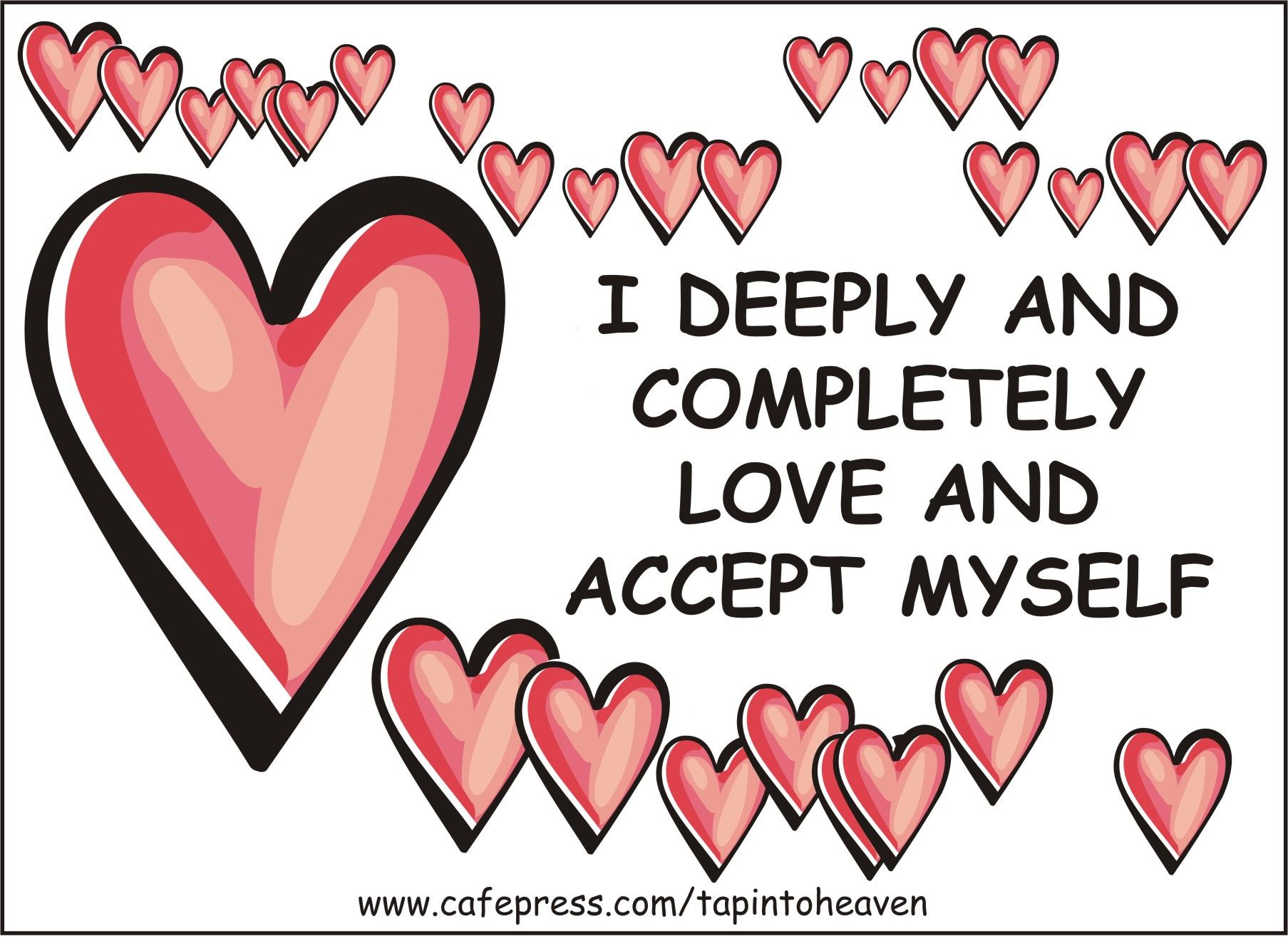 I Love And Accept My Self