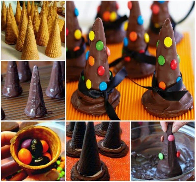 Wicked witches hat cookies cookies diy halloween diy ideas diy wicked witches hat cookies cookies diy halloween diy ideas diy crafts do it yourself halloween treats solutioingenieria Gallery