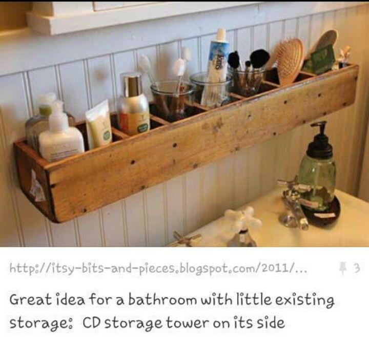 Pin von geisemers auf badezimmer pinterest diy for Ideen badezimmer ordnung