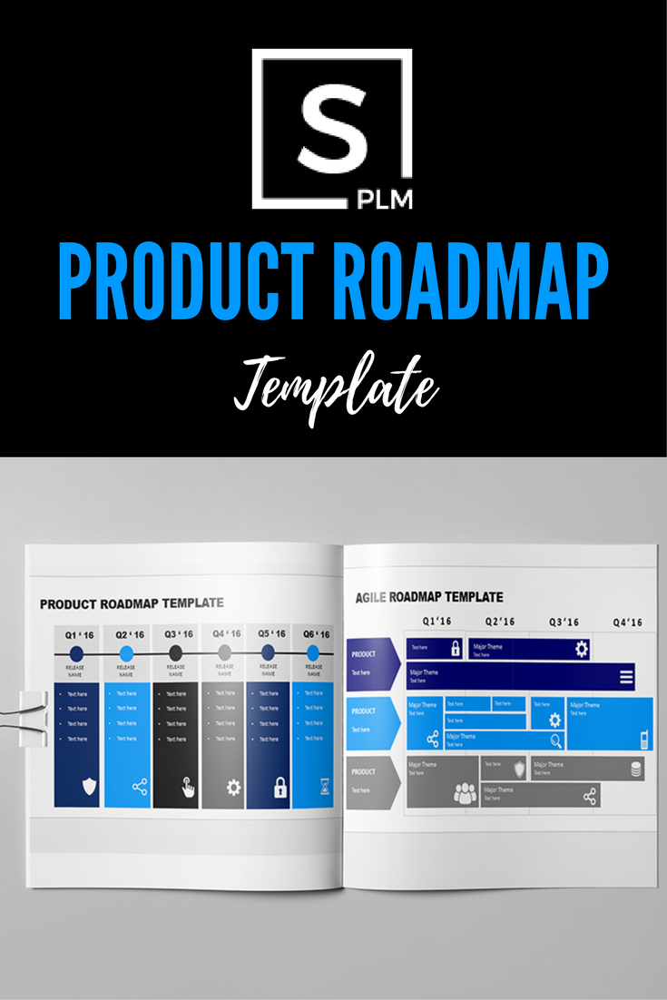 share plm product roadmap template downloadable powerpoint file