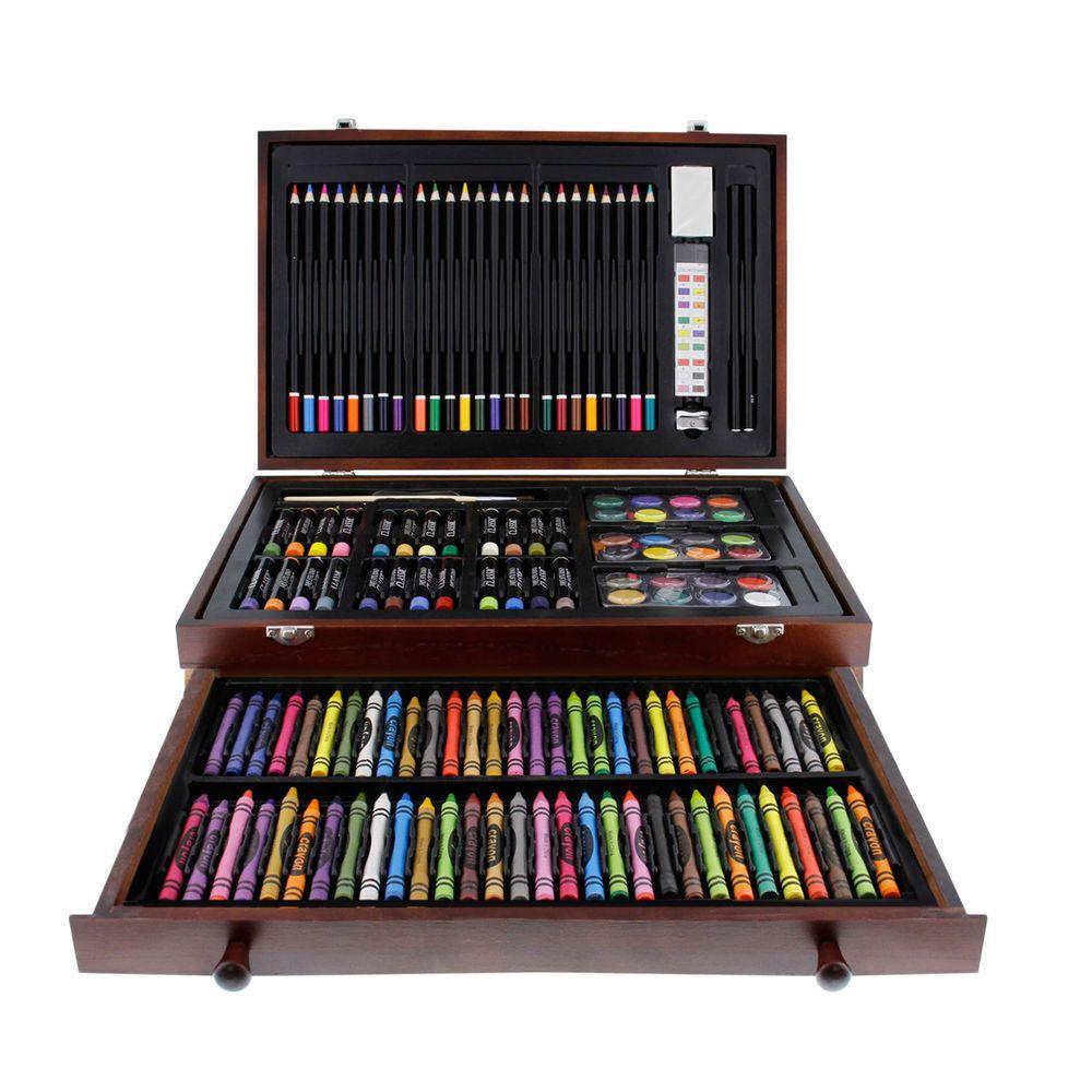 Details About 143 Piece Art Drawing Set Artist Sketch Kit Paint