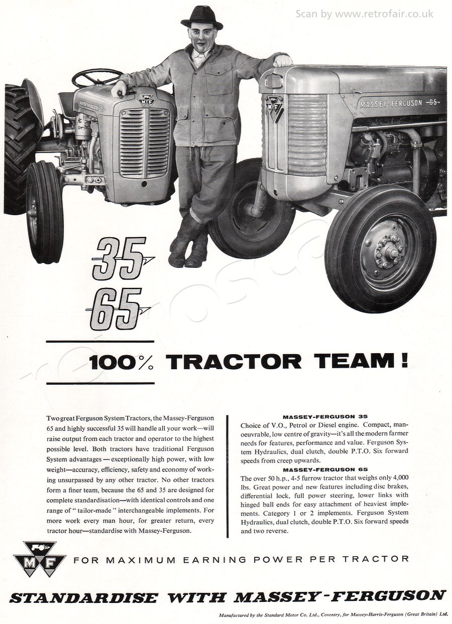 1958 Ferguson Tractor Attachments : Massey ferguson click the picture to check it out