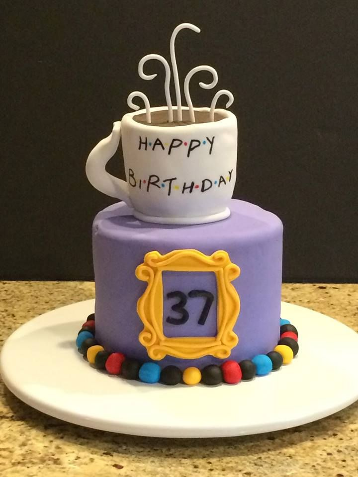 30 Awesome Friends Tv Show Themed Birthday Cakes With Images