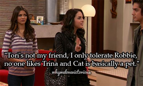 Why We Love Victorious With Images Icarly And Victorious