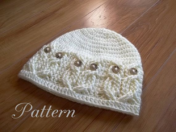Crochet Pattern Its A Hoot Owl Hat Adult Toddlerchild And Baby