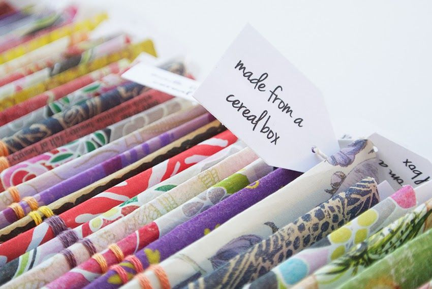 My diy cereal box notebook business cards diy crafts pinterest craft my diy cereal box notebook business cards ccuart Images