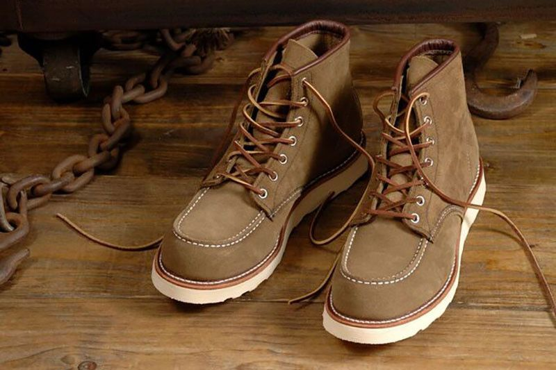 Classic Moc Toe Boots 8881 in 2020   Boots, Red wing shoes