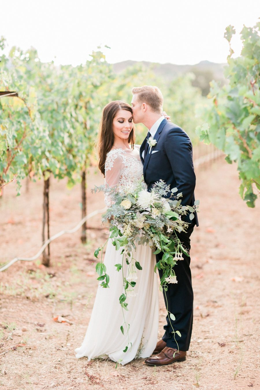 Rustic elegant fall wedding at chateau st jean berta bridal
