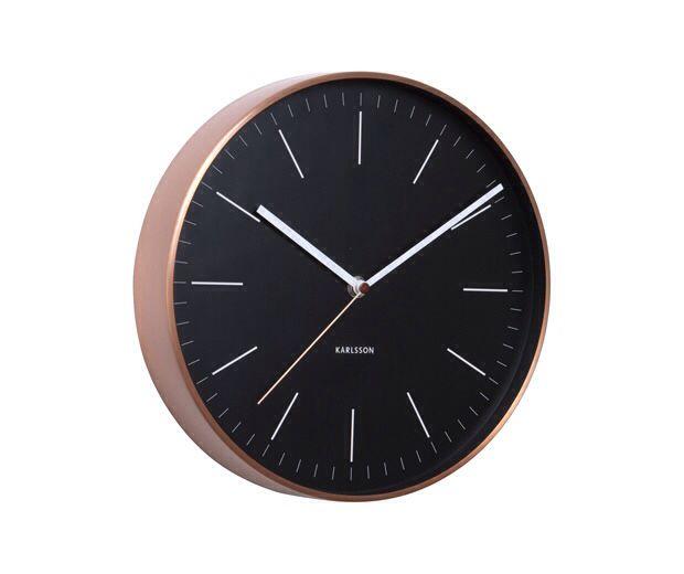 Karrlson Wall Clock Wall Clock Wall Clock Copper Wall Clock Design