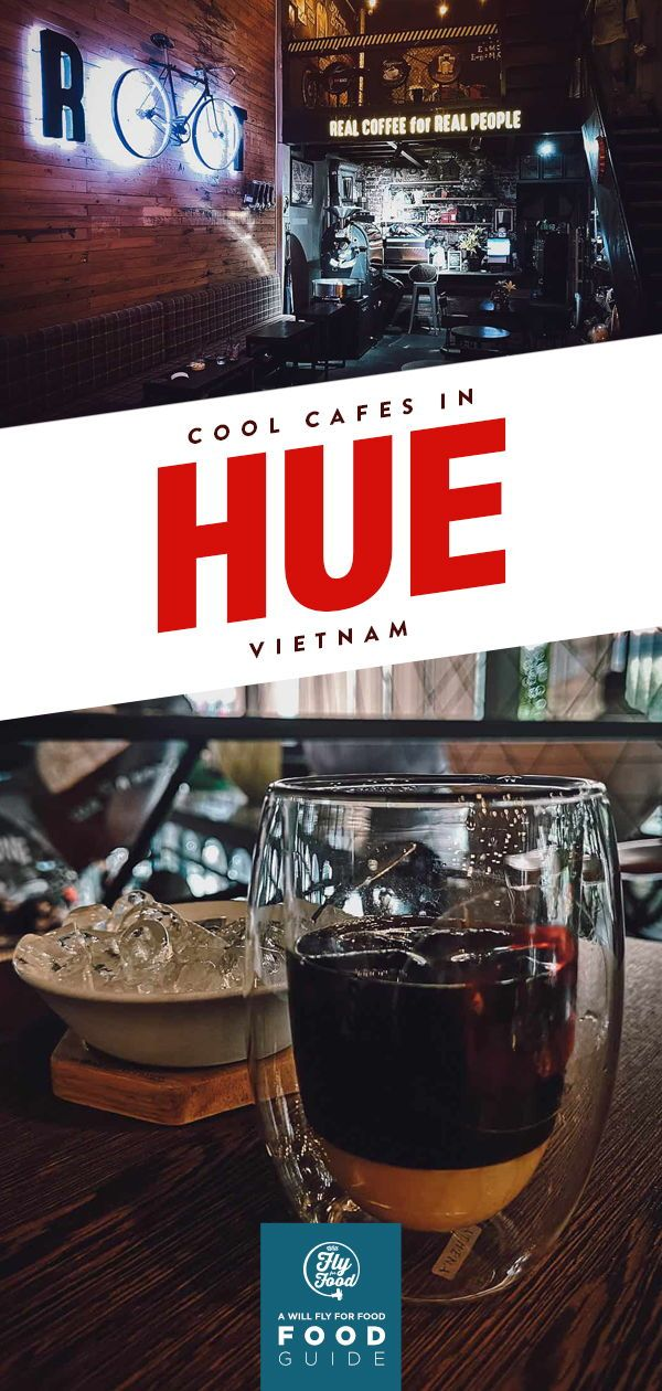 Cool Cafes in Hue, Vietnam