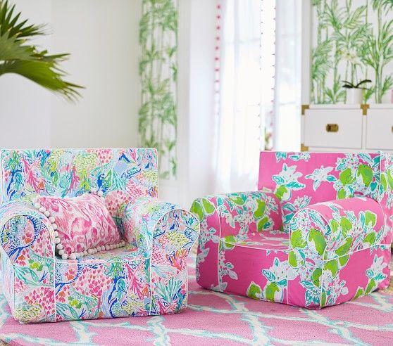 Strange Lilly Pulitzer Mermaid Anywhere Chair174 In 2019 Nursery Uwap Interior Chair Design Uwaporg