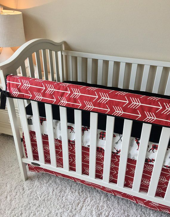 Woodlands Boy Crib Set Bears Lumberjack Moose Baby Bedding Fitted Crib Sheets Rail Guards Baby Boy Crib Bedding Moose Baby Bedding Crib Sets For Boys Boys Crib
