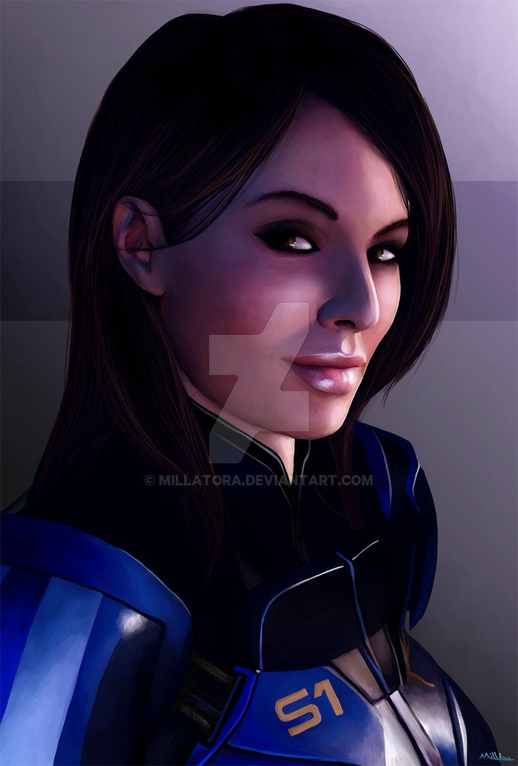 Lieutenant Commander Williams By Millatora Mass Effect Ashley