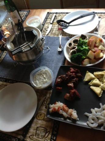 Coq Au Vin Fondue from the Melting Pot #brothfonduerecipes